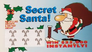 christmas fake lottery tickets